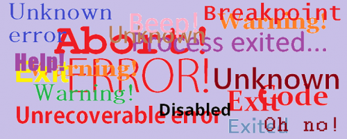 Project application errors - BOINC Wiki